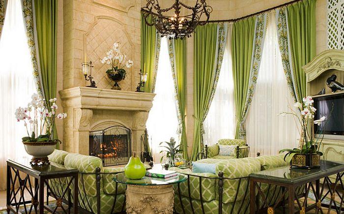 Идеальный цветдля традиционной гостиной