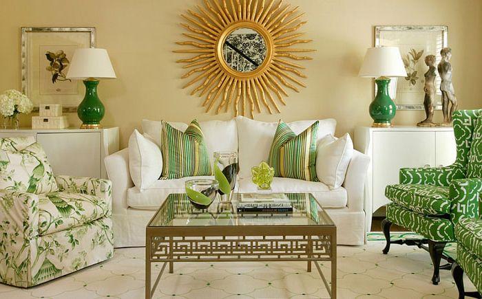 Интериор на хола от интериорен дизайн на Tobi Fairley