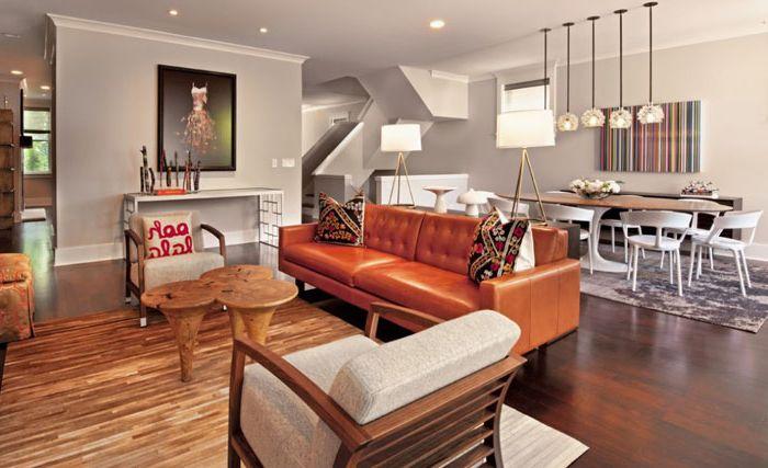 Интериор на хола от Buckingham Interiors + Design LLC