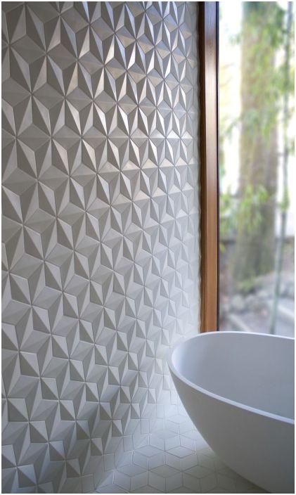 Пластмасовите панели са чудесна алтернатива на керамичните плочки