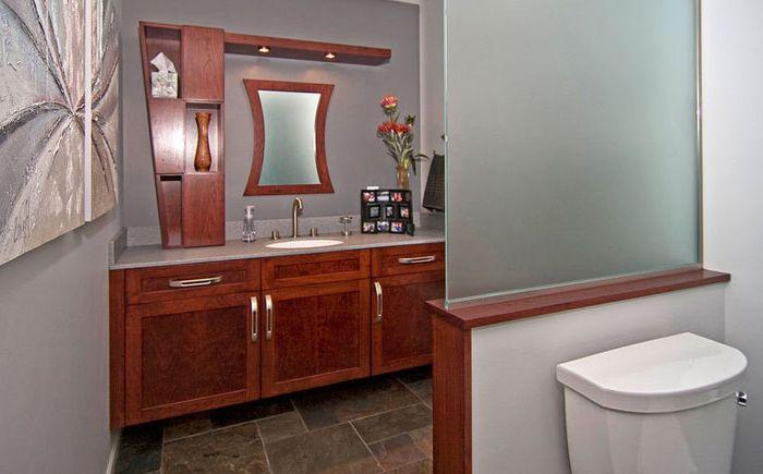 Szczerze mówiąc o intymności: jak ukryć toaletę