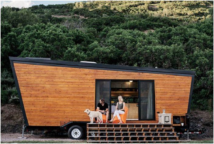 Woody - отличный дом на колесах площадью всего 22 кв. метра.