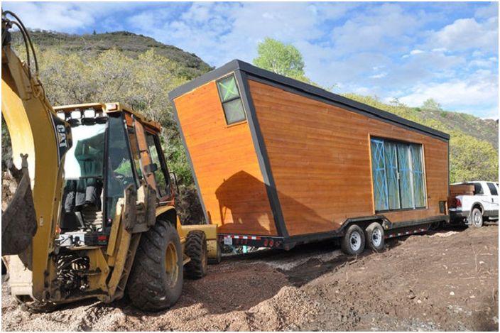 Woody - дом, который можно взять в дорогу.