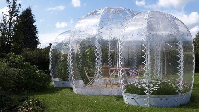 Invisible Garden House е аналог на мини-оранжерия.