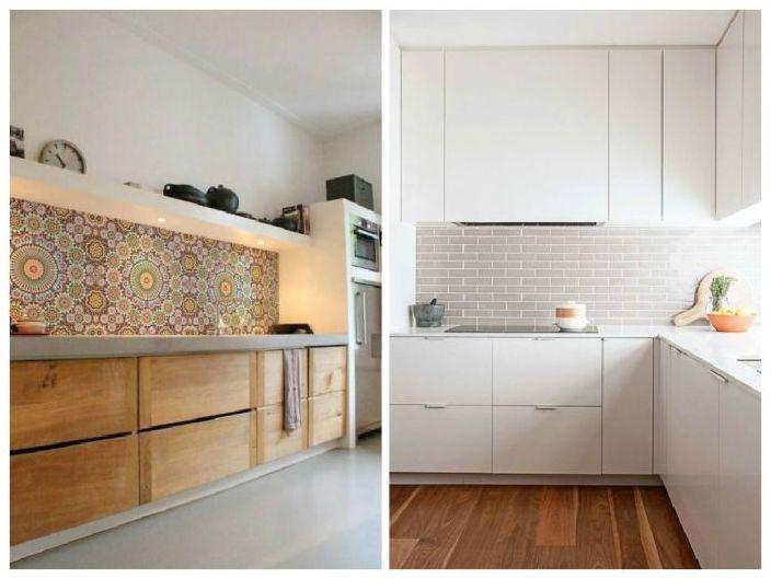 Minimalistiset keittiöt