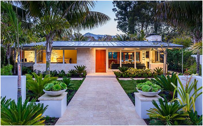 Butterfly Beach House: очарователно ранчо в стил 50-те