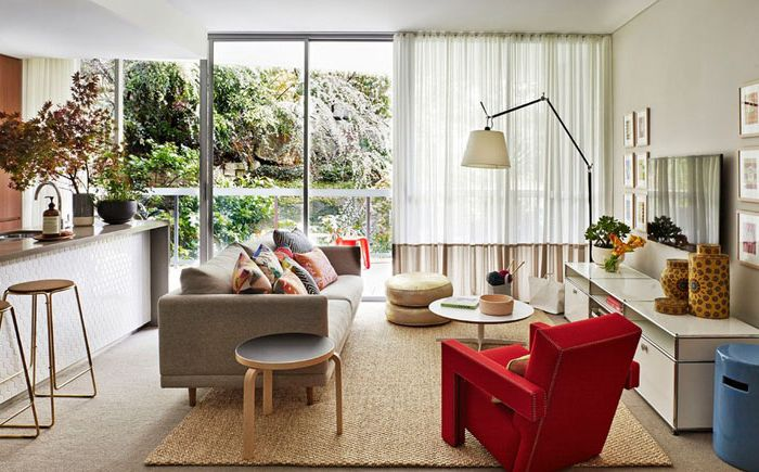 Интерьер гостиной от Arent&Pyke