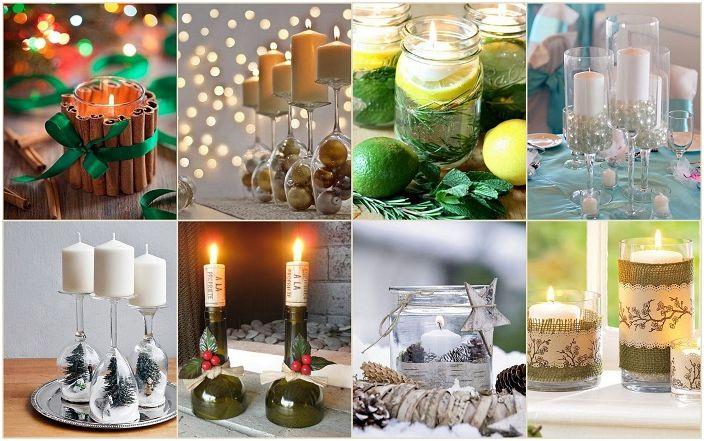 Направи си свещници - прости и красиви.