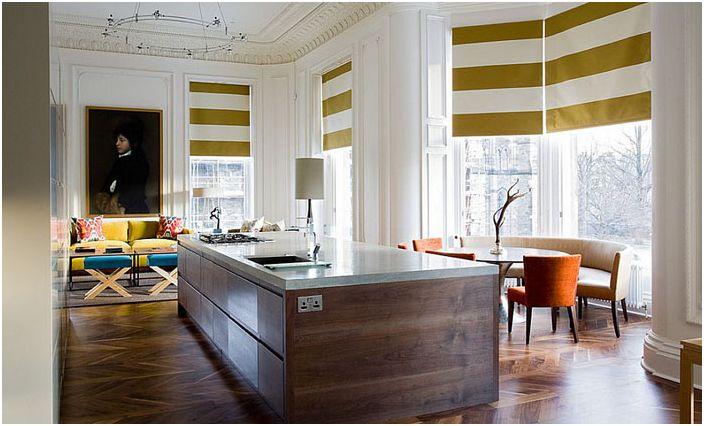 Кухненски интериор от Grosvenor Crescent