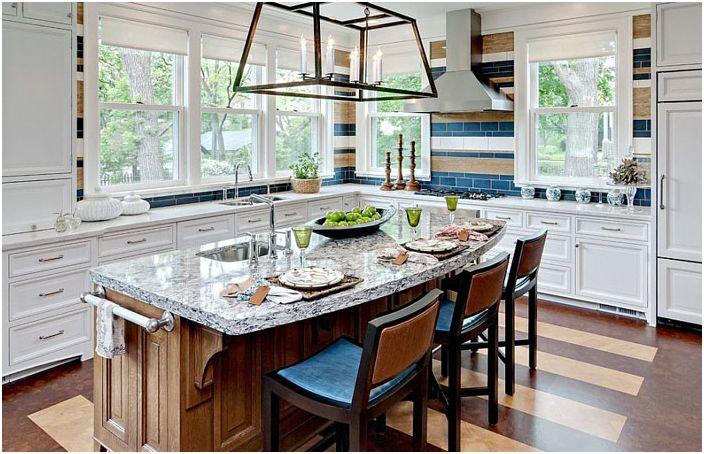 Кухненски интериор от Karen Soojian