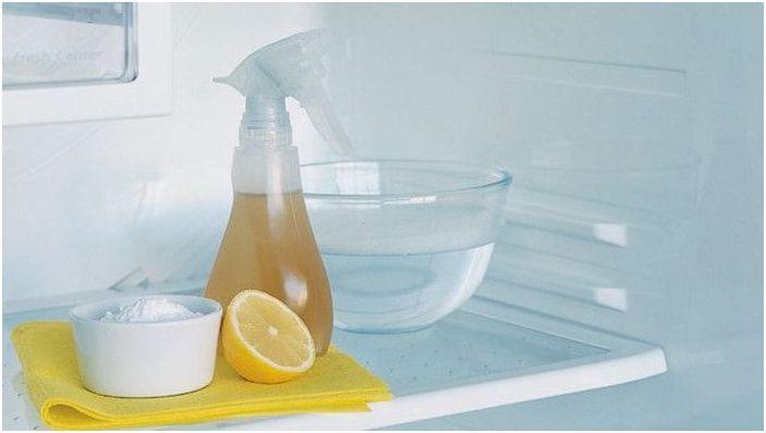Оцетът, содата и лимонът са добри в борбата с мръсотията и миризмите