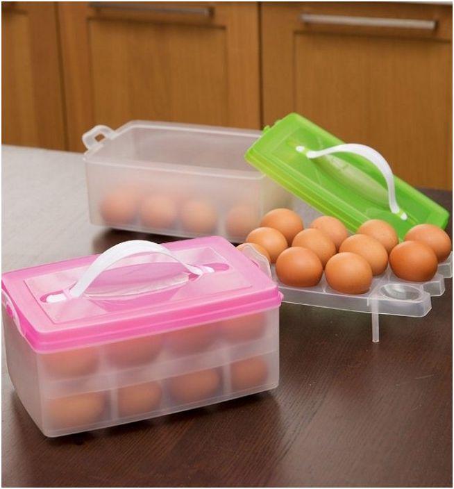 Яйцата трябва да се съхраняват в затворени съдове