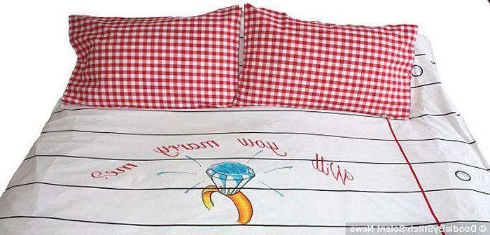 Спално бельо, което се боядисва лесно.