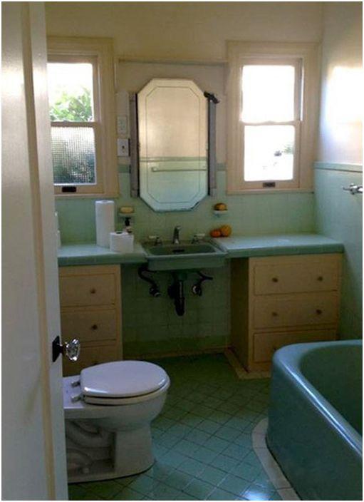 Łazienka przed