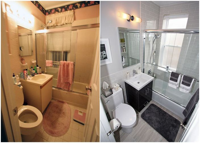 Баня преди и след
