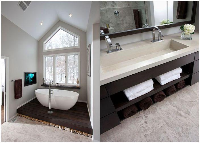 Łazienka przed i po