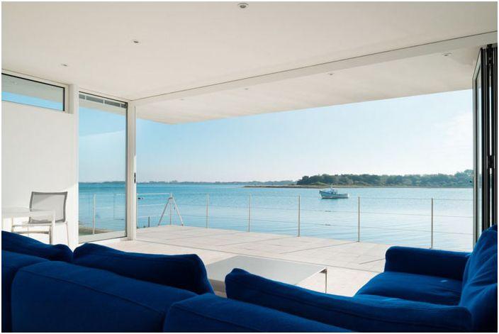 Интериор на хола от Meloy Architects