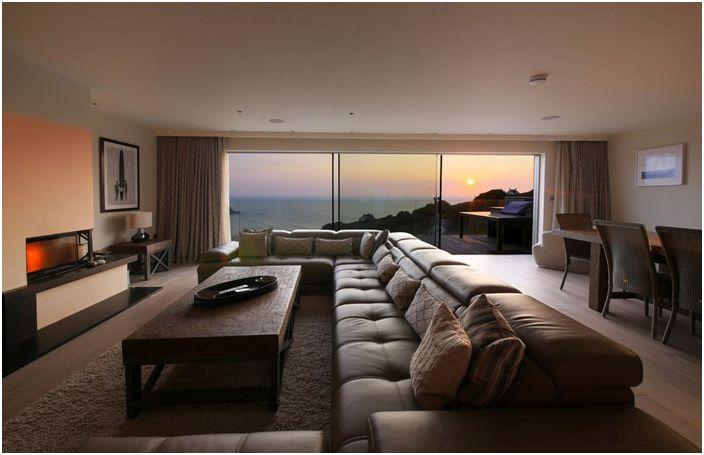 Интериор на хола от CSA Architects