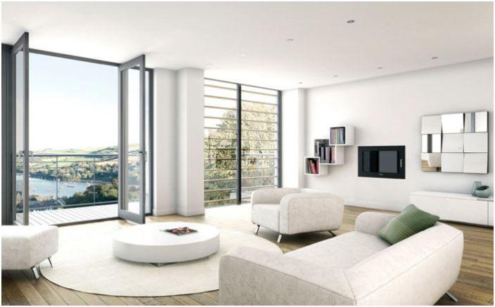 Интериор на хола от BBH Architects (Dartmouth) Ltd
