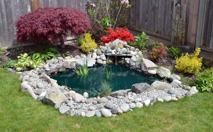 Рай за релаксация: 25 зашеметяващи идеи за градинско езерце