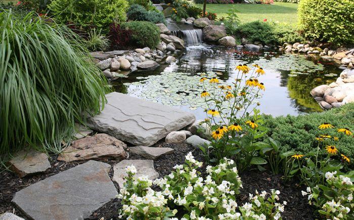 Езерце с водопад