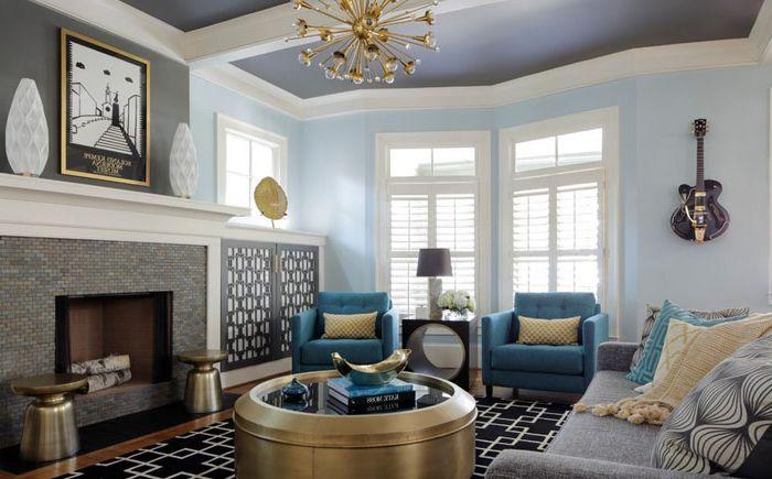 Интерьер гостиной от Minhnuyet Hardy Interiors