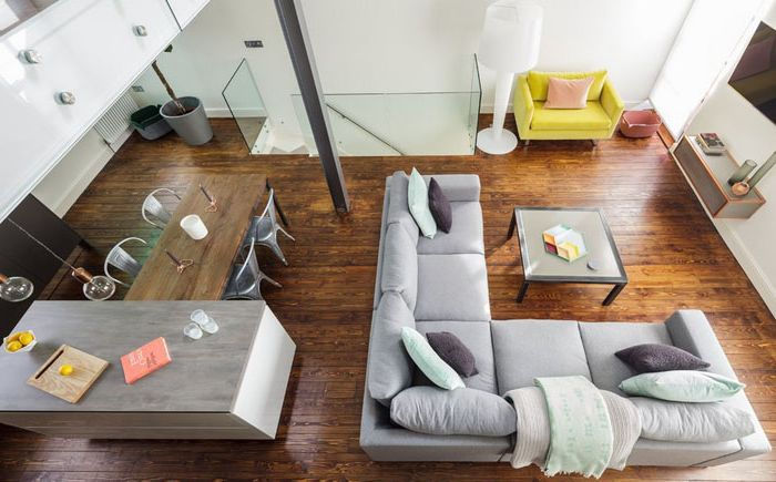 Интерьер гостиной от Michelle Chaplin Interiors