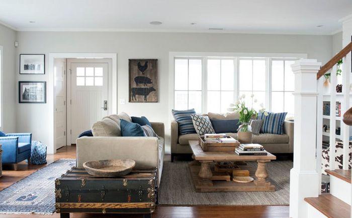 Интериор на хола от Bensonwood