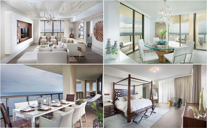 Луксозен апартамент в Маями до синьото море