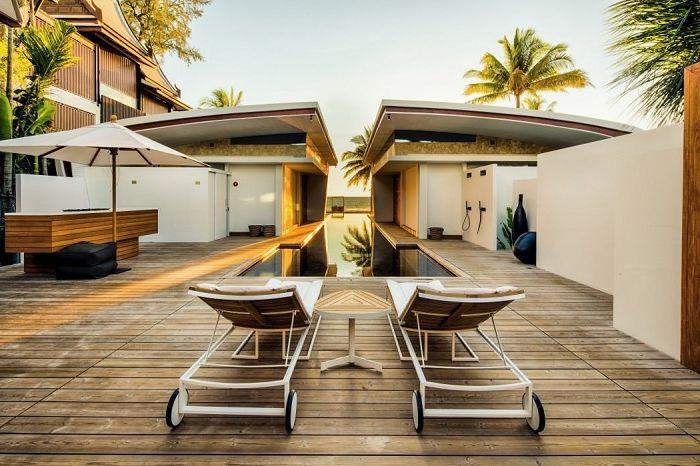 Iniala Beach House е проект на архитекти и дизайнери от различни страни.
