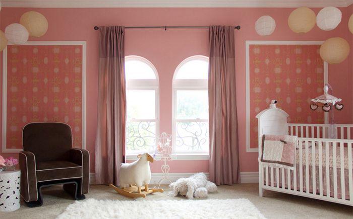 Sypialnia dla dziewczynek od A.S.D. Wnętrza - Shirry Dolgin