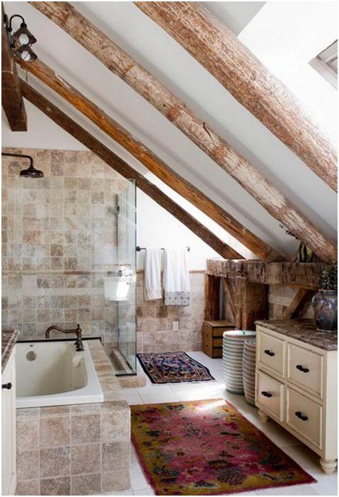 Успокояващ дизайн на банята