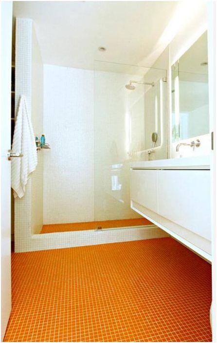 Жив дизайн на банята от средата на 20 век