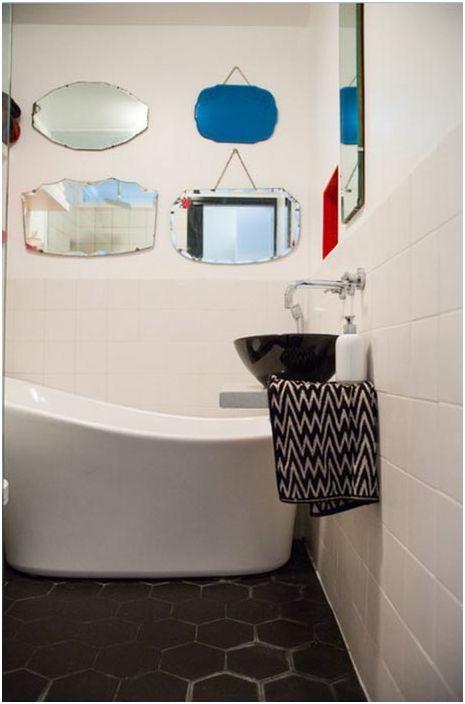 Малка вана за баня