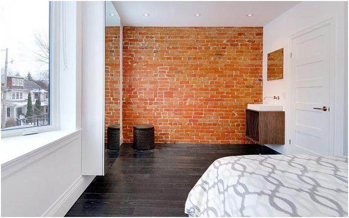 Умивалник в спалнята в Торонто