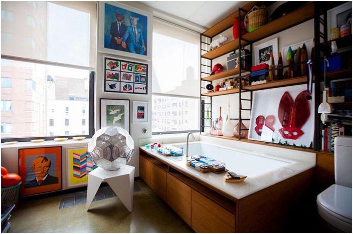 Духът на изкуството в дом в Ню Йорк