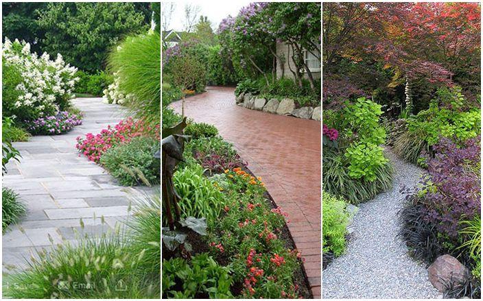 Вашият собствен дизайнер: оригинални градински пътеки, водещи към приказка