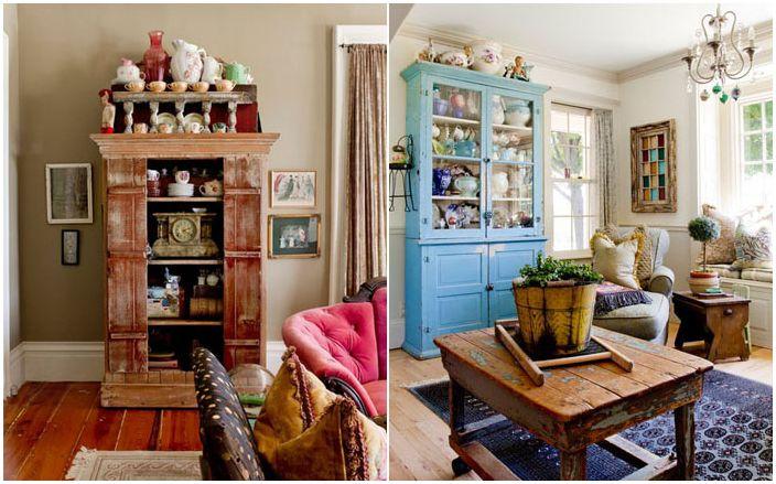 Вашият собствен дизайнер: селска къща във винтидж стил, изпълнена със стари и редки неща