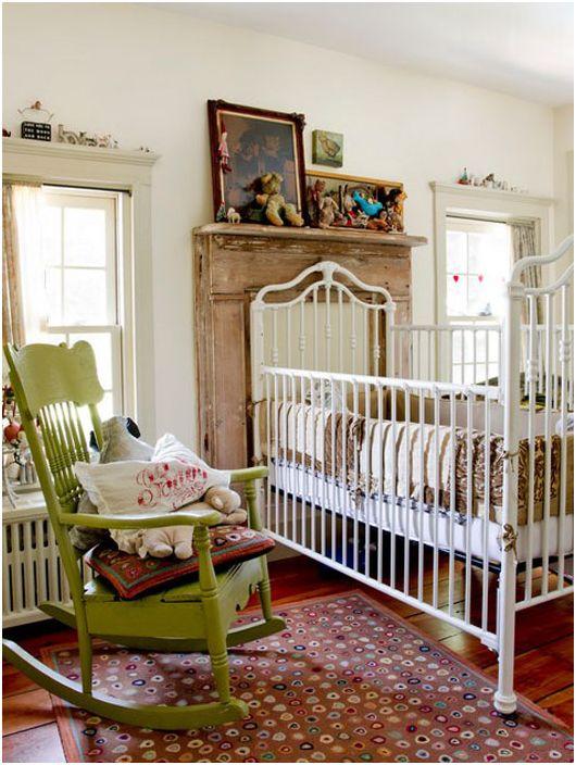 Детска стая във винтидж стил