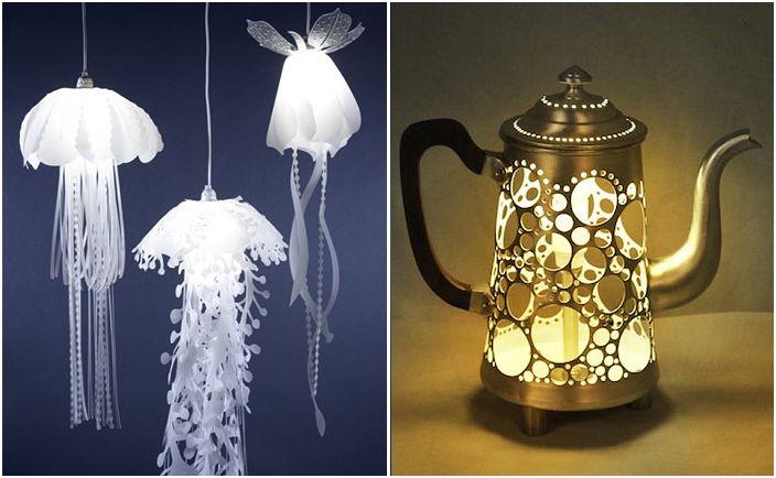 Дизайнерите по целия свят създават невероятни светещи предмети.