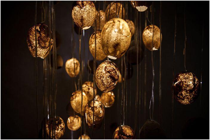 Дизайнерът Taleen Hazber използва пясък за светли нюанси