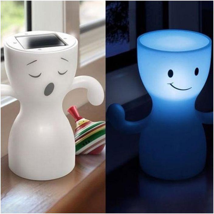 GloBoy може да се прозява и да се усмихва