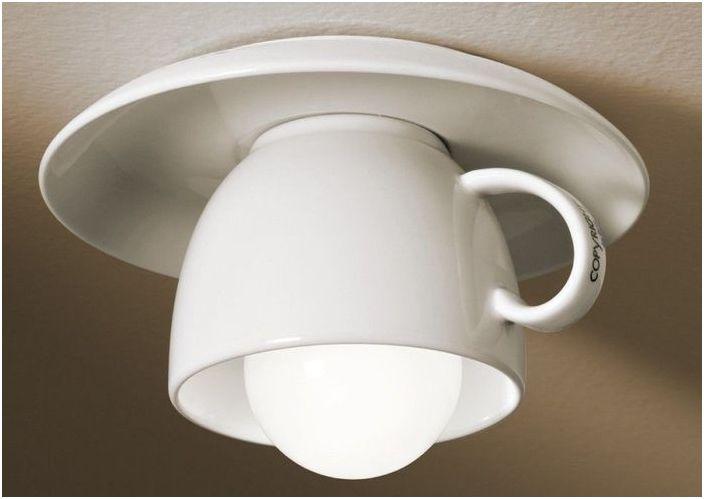 Чаша капучино на тавана