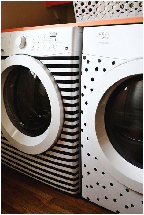 Wystrój pralki