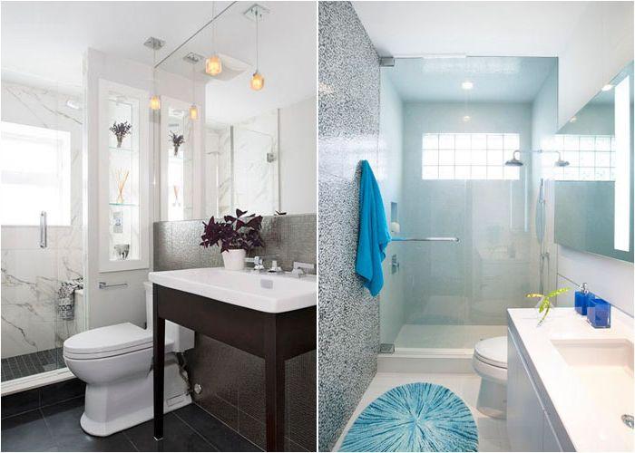Ванные комнаты с душевыми