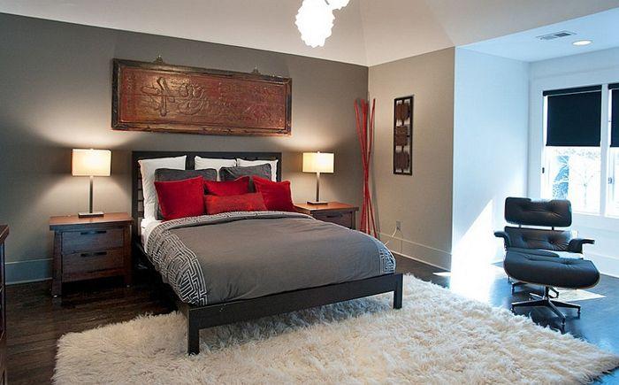 Sypialnia w stylu azjatyckim autorstwa Atmosphere 360 Studio