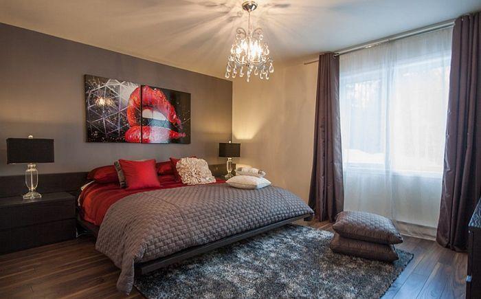 Luksusowa sypialnia Le Blanc Home Staging & Relooking