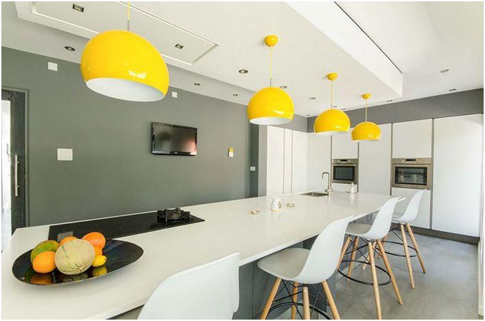 Интерьер кухни от Pushh Construction