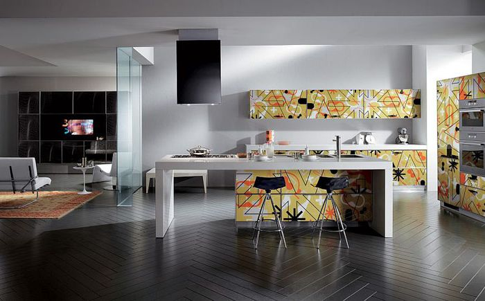 Границите между кухнята и хола се размиват