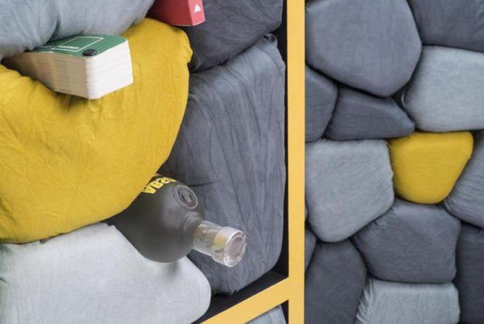 Можете да съхранявате нещата в пукнатините между меки калдъръмени камъни.